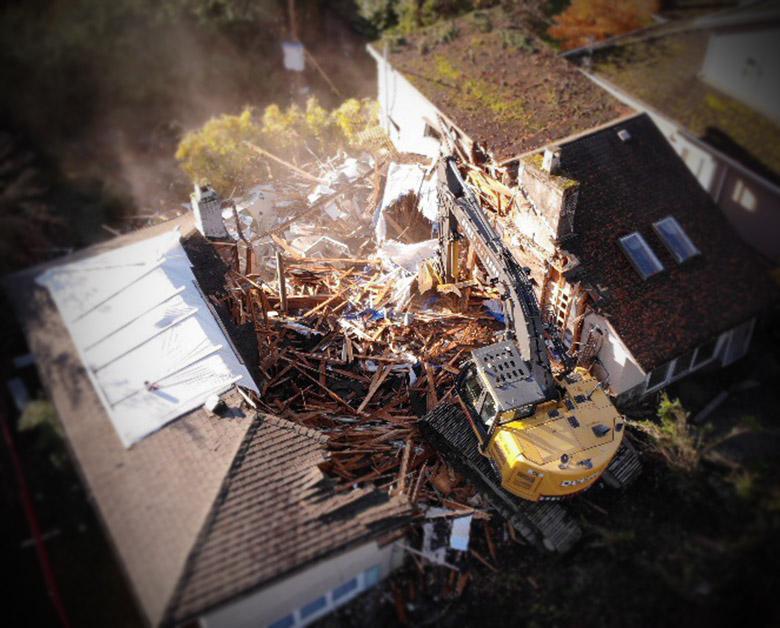 demolition west Vancouver BC